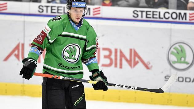 Hokejový obránce David Bernad