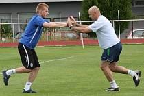 První trénink fotbalistů FK Mladá Boleslav