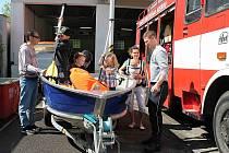 Dobrovolní hasiči v Benátkách nad Jizerou ukázali veřejnosti svou techniku. I historické kousky