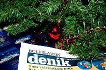 Veselé vánoční svátky přeje redakce Boleslavského deníku.