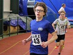 Jakub Kolín obsadil v běhu na 1.500 metrů druhé místo, když předtím dokázal vyhrát skok vysoký