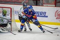 Mladá Boleslav vyhrála v nedělním zápase hokejové extraligy na ledě Českých Budějovic 6:2.