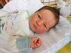 HONZIK Švec se narodil 2. dubna, vážil 4,1 kg a měřil 51 cm. Bude bydlet v Dolním Bousově s maminkou Markétou, tatínkem Markem a bráškou Ondráškem.