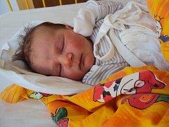 DANIEL Mikš se narodil 23. února s mírami 3,61 kilogramů a 52 centimetrů. Doma bude v Bělé pod Bezdězem.
