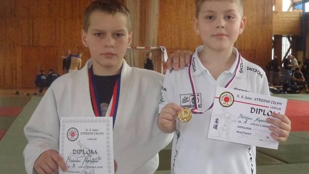 Michal Horák a Matěj Kopecký