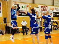 Volejbalisté Benátek vyhráli v Brně