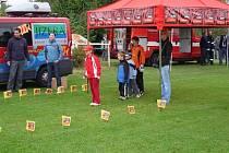 Na děti čekala celá řada soutěží.