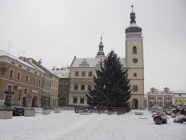 Procházka zimní Boleslaví - Mikuláš 2012