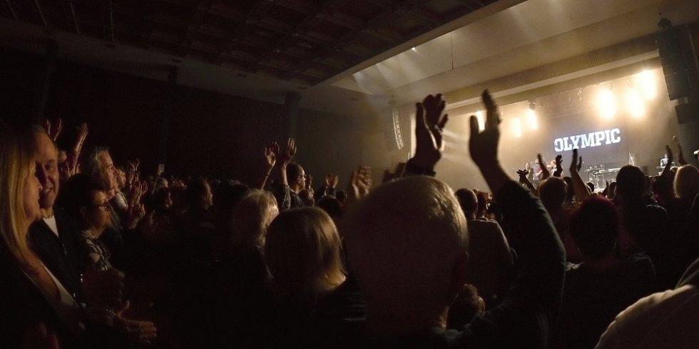 Koncert skupiny Olympic v Mladé Boleslavi.