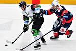 Extraligové hokejové utkání Mladá Boleslav - Chomutov.