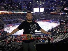 Jaroslav Kostraba v pařížské hale Bercy.
