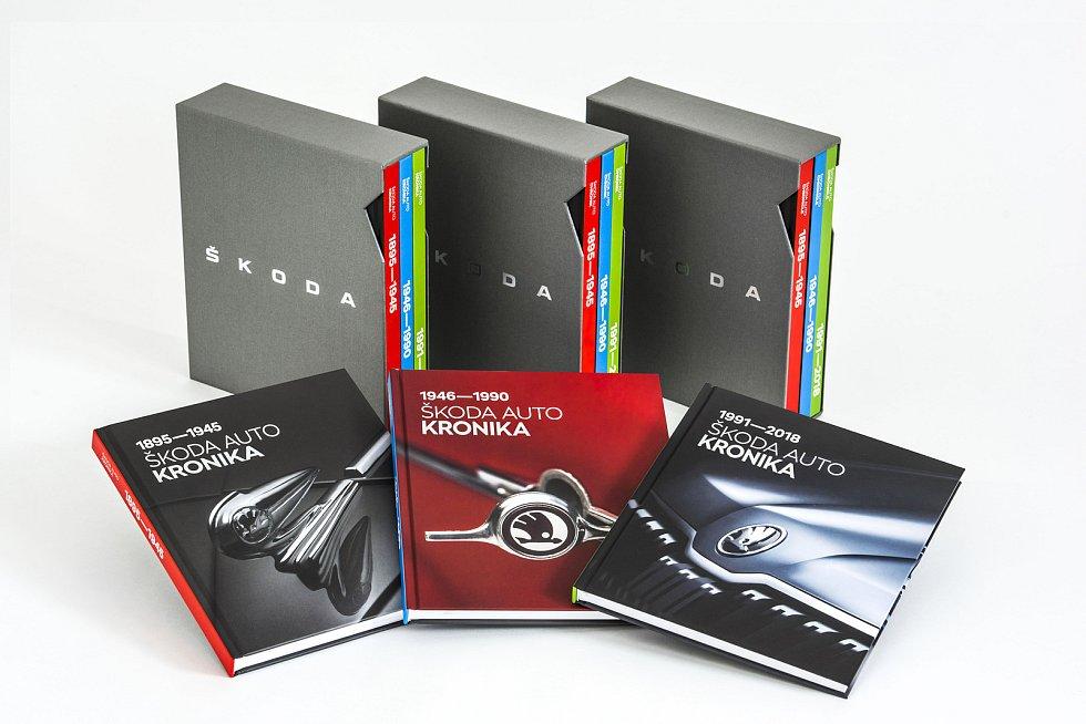 Kronika Škoda Auto představuje historii automobilky.