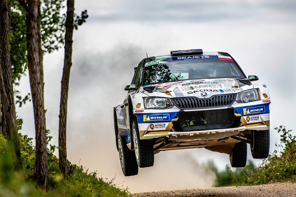 Pilot rally Filip Mareš