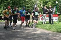 Čtyřiadvacetihodinový běh na Štěpánce.