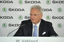 Šéf Škody Auto Winfried Vahland.