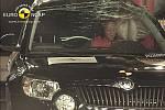 Škoda Yeti získala v nárazových testech bezpečnosti plných pět hvězdiček.