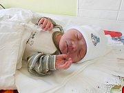 Kamil Kaniak se narodil 24. dubna, vážil 3,11 kg a měřil 49 cm. S maminkou Michaelou a tatínkem Michalem bude bydlet v obci Vlkava.
