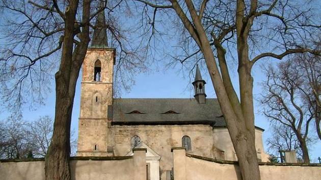 Kostel v Solci, na který pořádají sbírku