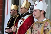 Tři králové v Mnichově Hradišti.