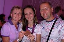 Jan Videcký na olympiádě v Londýně