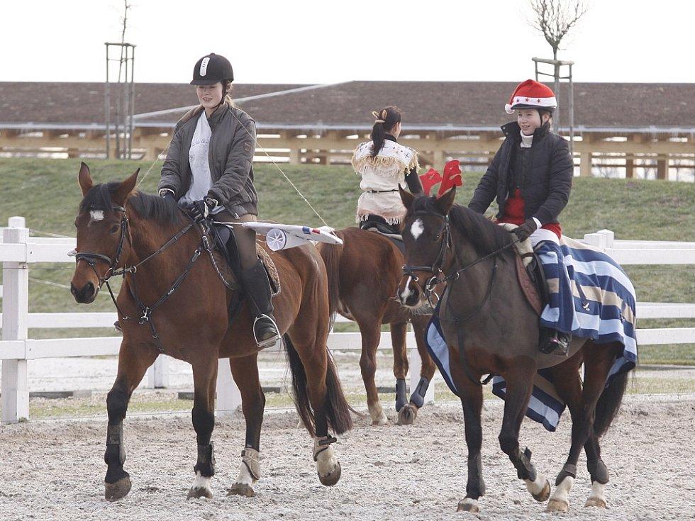 Jezdecká show Ptýrov - prosinec 2012