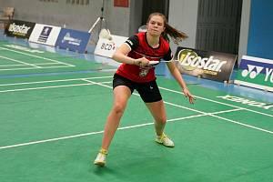 Benátecká badmintonistka Kateřina Zuzáková.