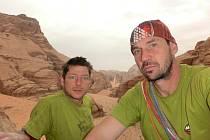 Výprava čtyř boleslavských horolezců do Jordánska