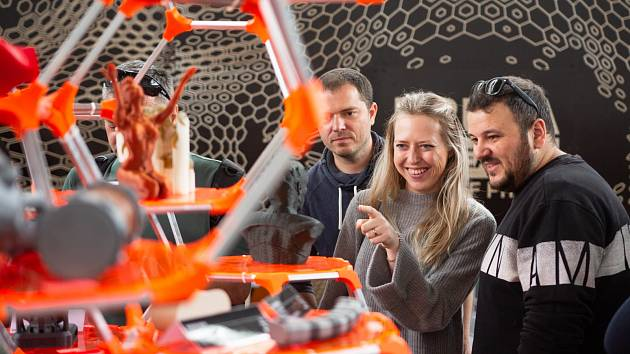 Maker Faire Prague 2018.