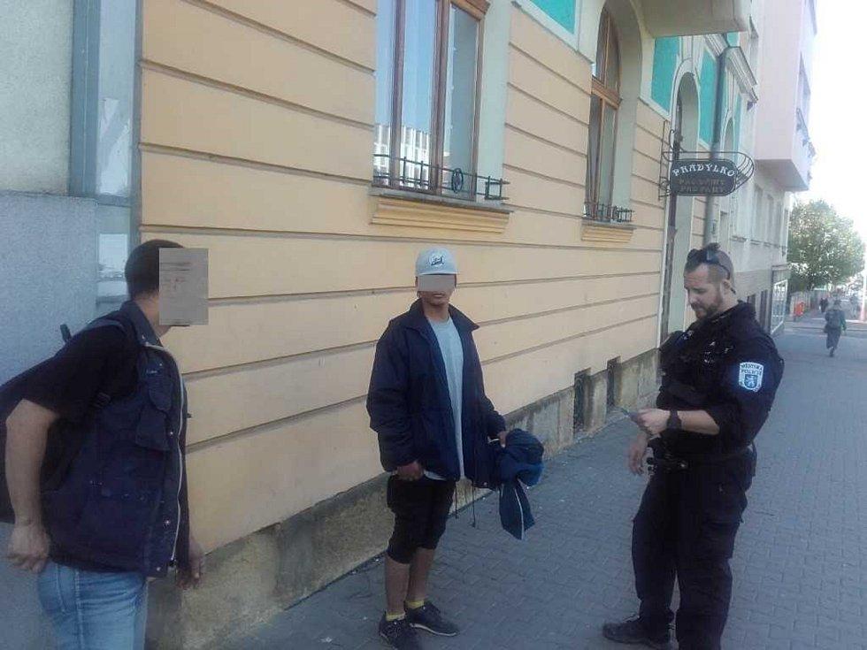 Policisté našli hledaného muže.