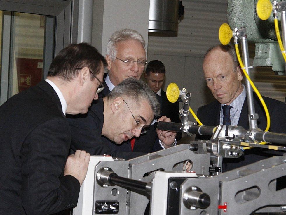 Zahájení provozu nové lisovny ve Škoda Auto