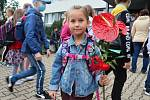 Ze zahájení školního roku 2020/2021 na 5. základní škole v Mladé Boleslavi.