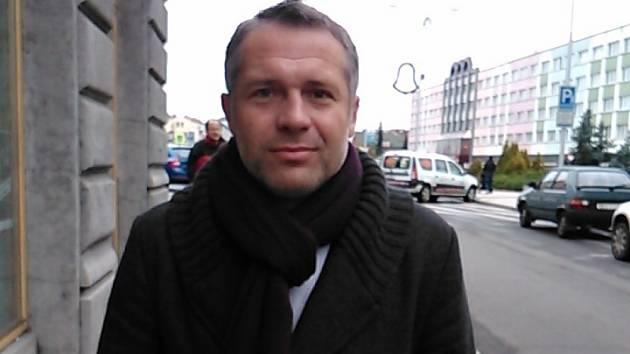 Předseda SK Kosmonosy Petr Bernard