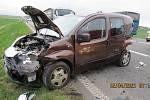 Hromadná nehoda u Hrdlořez.