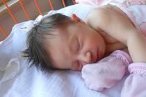 LUCIE Honová se narodila 29. srpna, vážila 3,29 kg a měřila 50 cm. S maminkou Lucií a tatínkem Jiřím bude bydlet v Mladé Boleslavi.