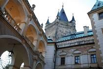 Zámek Stránov, ilustrační foto.