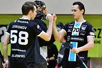Superliga, 1. zápas čtvrtfinále: Technology Mladá Boleslav - Panthers Otrokovice