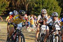 Mladí bikeři si při závodech v Bakově počínali velice zdatně.