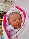 Barborka Knesplová se narodila 10. září, vážila 4,08 kg a měřila 51 cm. Maminka Petra a tatínek Luboš si ji odvezou domů do Luštěnic, kde už se na ni těší bráška Luboš.