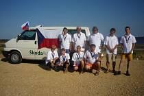 Naši zástupci na MS v raketovém modelářství ve Španělsku.
