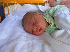 KAROLÍNA Harvanková se narodila 28. září mamince Martině a tatínkovi Tomášovi z Mladé Boleslavi. Vážila 3,66 kilogramů a měřila 52 centimetrů.