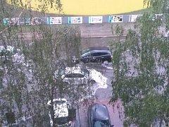 Přívalový déšť potrápil Mladoboleslavsko