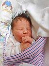 Josef Vecsey se narodil 20. května, vážil 3,8 kg a měřil 51 cm. S maminkou Kristýnou a tatínkem Radkem bude bydlet v Dubé.