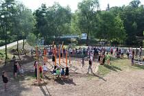 Sportovně rekreační areál na Urbanovce v Benátkách nad Jizerou byl slavnostně uveden do provozu.