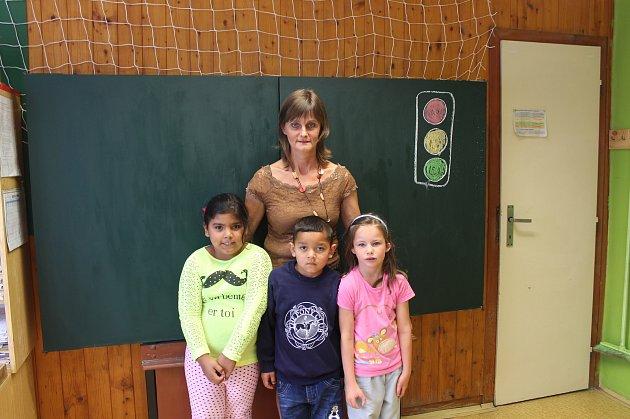 1. třída  Základní škola Švermova, třídní učitelka Libuše Janoušková