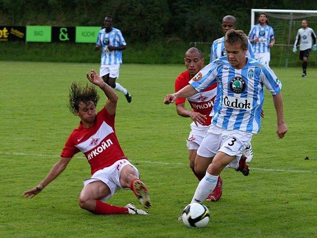 Přípravné utkání: FK Mladá Boleslav - Spartak Moskva