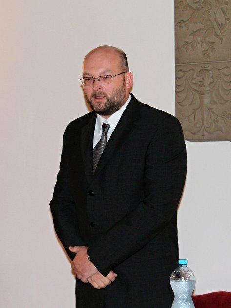 Nový starosta Dobrovice Tomáš Sedláček.