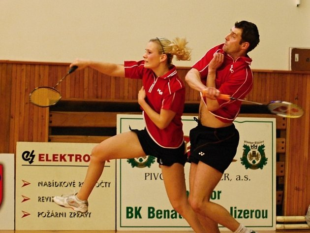 1. liga badmintonu: Benátky nad Jizerou - Brno Jehnice