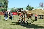První aerofestival v Mladé Boleslavi.