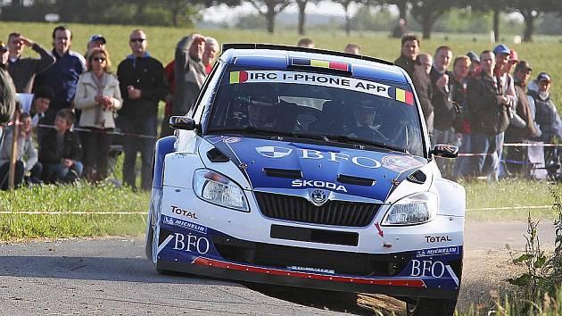Freddy Loix jedoucí v tovární Škodě Fabii Super 2000 suverénním způsobem zvítězil v pátém podniku IRC, belgické Ypres Rally.