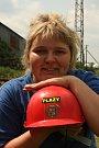Romana Prušková závodí za ženské družstvo Plazy.